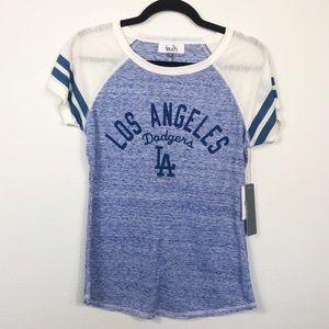 LA Dodgers Tee Bling Size Medium NWT